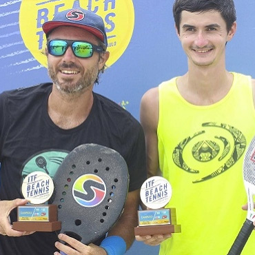 Estrangeiros dominam o ITF de Beach Tennis
